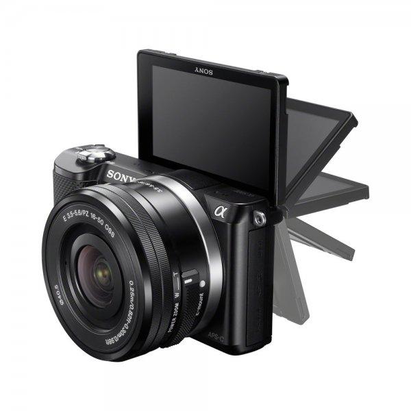 *EBAY* Sony ALPHA 5000 inkl. Objektiv 16-50 mm NEU 251,10€