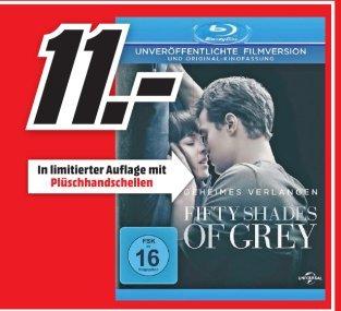 [Lokal Mediamarkt PortaWestfalica] Fifty Shades of Grey Blu-Ray..Limitierte Auflage mit Plüschhandschellen für 11,-€
