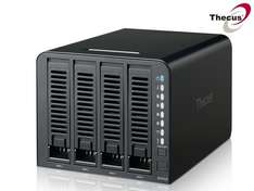 [iBOOD] Thecus N4310 4 Bay Mobile Access NAS Server - Leergehäuse - 169,95 + 5,95