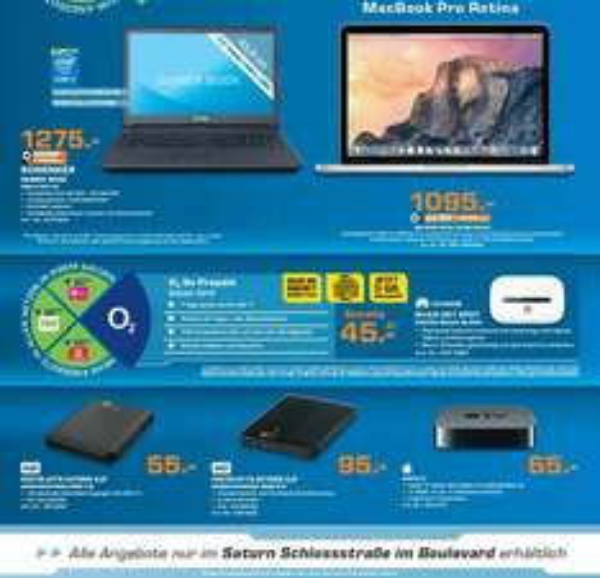 "[Saturn Berlin] MacBook Pro Retina 13"" (2015er)"