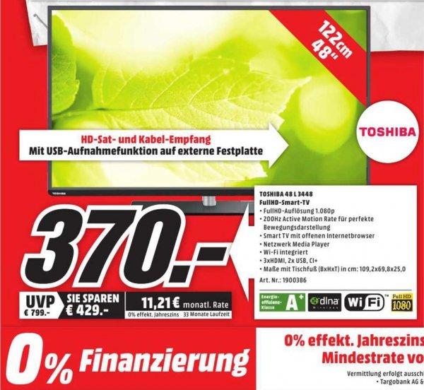 [Lokal Würzburg/Schweinfurt] Toshiba 48L3448 Full-HD, 200Hz, WLAN,