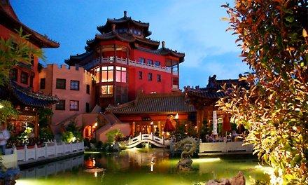 [Groupon] Phantasialand: 1-2 Übernachtungen für 2-4 Pers. inkl. Frühstück, Parkeintritt u. Spa im Hotel Ling Bao ab (!) 175 €