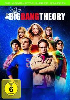 The Big Bang Theory Staffel 7 (3 DVDs) für 19,95 @alphamovies