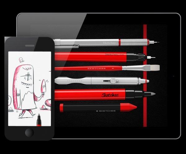 [iOS] Tayasui Sketches Plus (App für kreatives Zeichnen) statt 4,99€