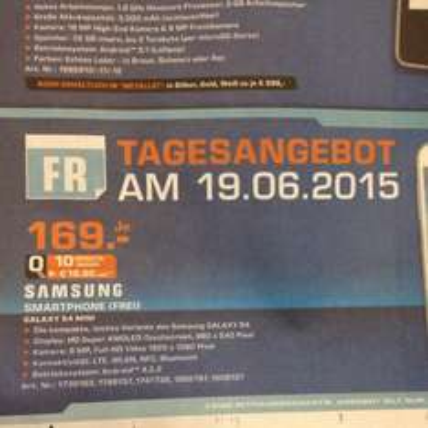 [LOKAL?!] Samsung S4 Mini Saturn Karlsruhe