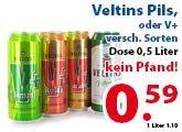 [Festival-Deal] *Lokal* Für Grenzgänger Venlo: Veltins Pils / V+ ohne Pfand 0,59 €