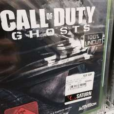 [Saturn Stuttgart ] Xbox One Call of Duty Ghost für 10€