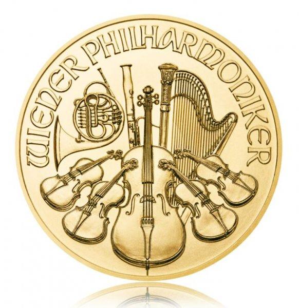 2x-1-Unze-1x-1/25-Unze-Goldmuenze-Wiener-Philharmoniker-63,45-Gramm-Feingold