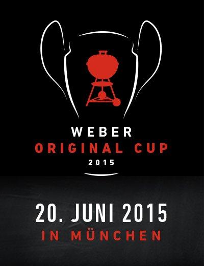Kostenloses Ticket für den Weber Original Cup mit Thomas Müller am 20.06 in München