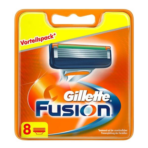 Gillette Fusion Klingen, 8 Stück, Amazon Prime kostenlose Lieferung ansonsten noch 3 Euro Versand