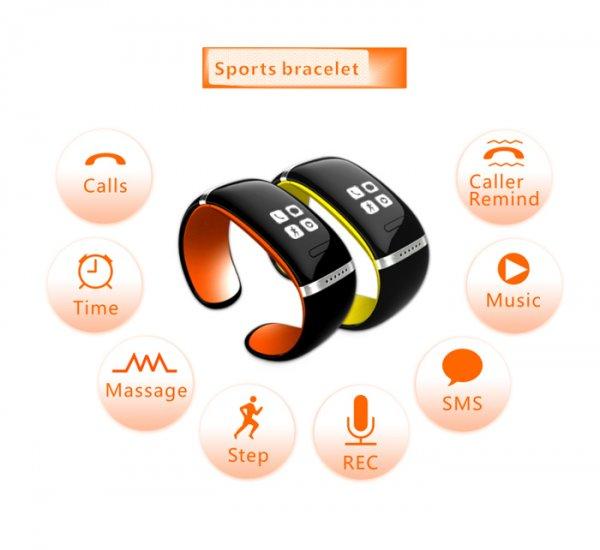 [CN] L12S OLED Fitness Smartwatch mit Android / iOs App für 17,66 bzw. 16,77€ (via App) @Allbuy