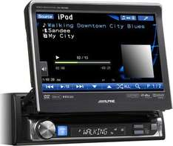 Alpine IVA-D511RB Autoradio mit Monitor Bildschirm, 799,- EUR @ toms-car-hifi