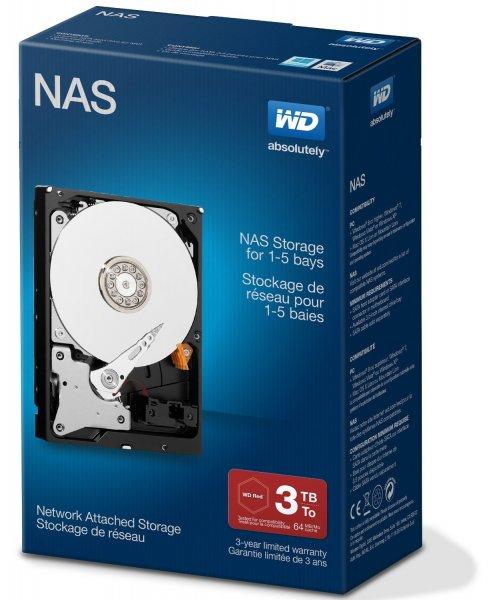 [Amazon] Western Digital Red _Retail Kit_ 3TB WDBMMA0030HNC (WD30EFRX) für 111,76€ [37,25€/TB]