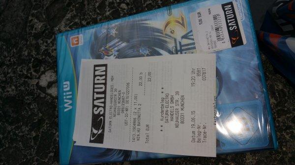 [Lokal München] Bayonetta 2 Wii U für 11€