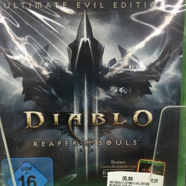 [Mediamarkt Leipzig (Brühl)] Diablo 3: Reaper of Souls für Xbox one
