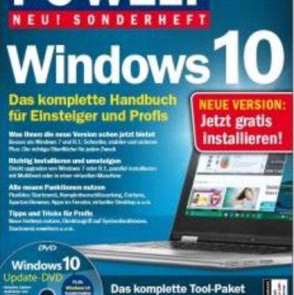 PC Welt Sonderheft Windows 10 als PDF