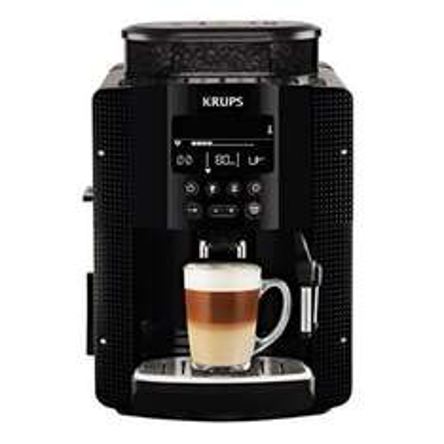 [Amazon Prime]KRUPS EA8150 Kaffeevollautomat (1,8 l, 15 bar, LC Display, CappuccinoPlus-Düse) schwarz für 375 Euro