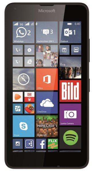 Microsoft Lumia 640 Dual-SIM schwarz von tech-mobile.de