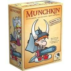 Pegasus Munchkin 1+2, Kartenspiel + kostenlose Beigabe