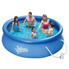 Swimming Pool 305x76cm Summer Escapes Fast Set Quick Up mit Filterpumpe @ebay 39,90 €