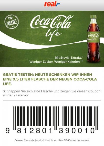 [real]  Coca Cola Life 0,5 Gratis (25c Pfand)