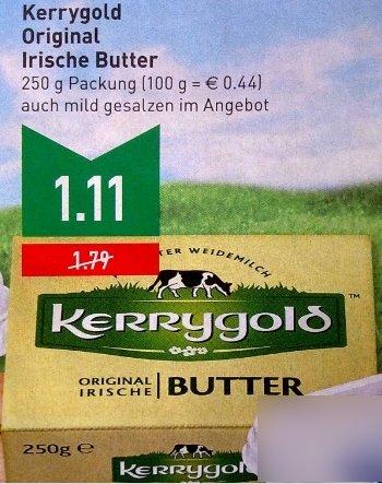 [Marktkauf Rhein-Ruhr]  Kerrygold Original Irische Butter 250g 22.06-27-06.15