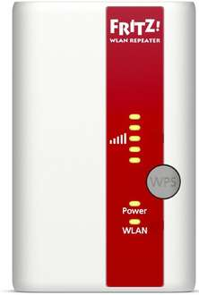 AVM WLAN Repeater 300 MBit/s 2.4 GHz FRITZ!WLAN 310 für 22,34€ @ Voelkner