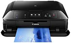 Canon Pixma MG7550 Multifunktionsgerät (Drucker, Kopierer, Scanner, USB, WLAN, LAN, NFC, Pixma Cloud-Link) @ Amazon