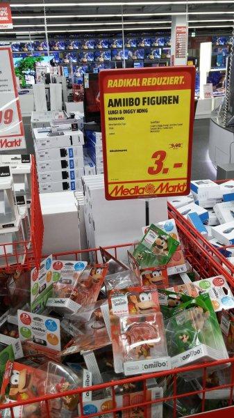 [Media Markt Hannover Wülfel] Diddy Kong und Luigi Amiibo Figuren für 3 € statt 9,99 €!