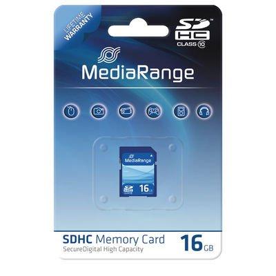[discobianco.com]MediaRange SDHC Speicherkarte Class10 - 16 GB