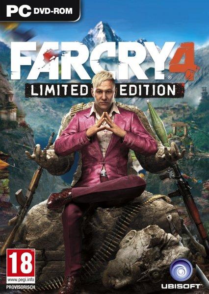 Fary Cry 4 - Limited Edition inkl. Hurks Erlösung (PC) 22,99€ inkl. Versand / 100% Uncut - anstatt 28,13€
