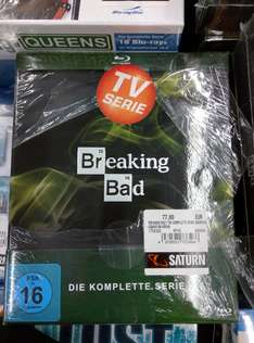 [Lokal - Braunschweig - Saturn] Breaking Bad Blu-Ray Komplettbox 77€