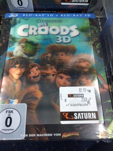 Die Croods Blu-Ray 3D Steelbook mit Lenticular, MM/Saturn Exklusiv @Saturn, Düren [Lokal]