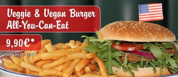 Veggie All You Can Eat für 9,90€ bei Miss Pepper American Restaurant am 22 und 23 Juni