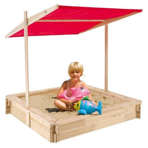 [Amazon-Prime]  Holz-Sandkiste mit Dach