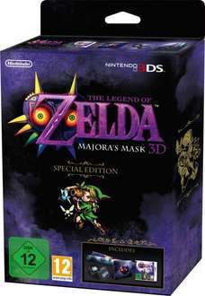 The Legend of Zelda: Majora's Mask 3D Steelcase [Nintendo 3DS] für 33€ + 6,60€ VSK @Saturn.at