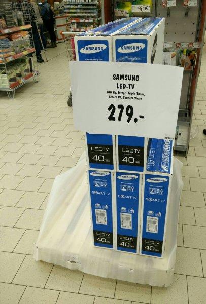 [Kaufland Offline, Lokal?] Samsung LED TV 40 Zoll UE40h5273SS