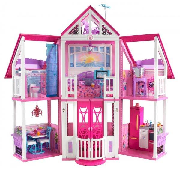 Sonntagsangebot: Barbie Traumhaus von Mattel, 69,99 € VSK-frei @Galaria Kaufhof