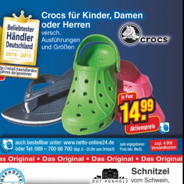 Crocs Flipband Flip Flops, versch. Farben 22% Unter Idealo[Netto,offline,Bundesweit]