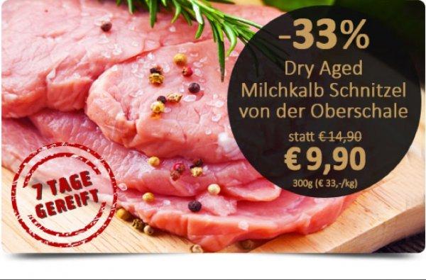 Gourmondo dry aged Kalbsschnitzel -33% -33%