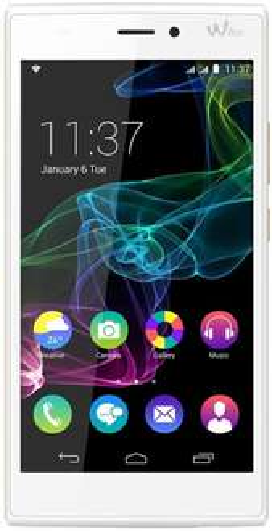 Wiko Ridge 4G Smartphone (5 Zoll HD-Display, 1.2 GHz-Quad-Core-Prozessor, 13 Megapixel-Kamera, 16GB interner Speicher, Android 4.4.4) weiss/gold inkl.Vsk > 184,12 € [amazon.fr]