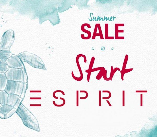 [ESPRIT] Summer Sale mit Hemden ab 11,99 €, Kleider ab 17,99 € (+10%-Newsletter-Rabatt)