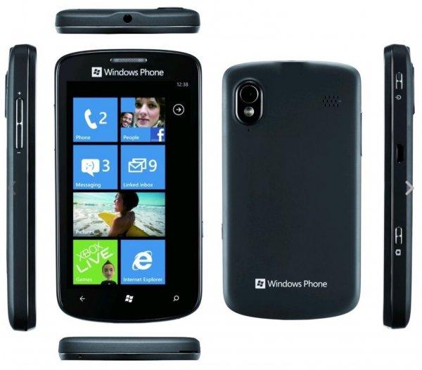 ZTE Tania - 4GB Schwarz (Ohne Simlock) Windows Smartphone - Händler, NEU - WOW @ Avides