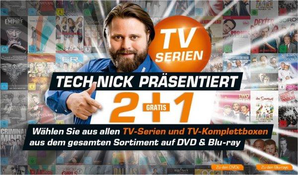 [Saturn Bundesweit] Nimm 3 Zahl 2 - TV-Serien und TV-Komplettboxen [DVD/Blu-ray]