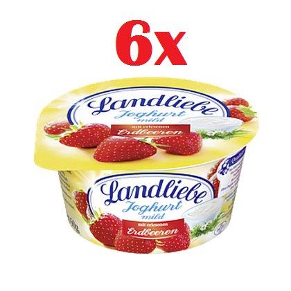 [KLAAS+KOCK] 6x Landliebe Fruchtjoghurt versch. Sorten für 0,22€/Stück (Angebot+Coupon)