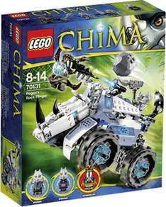(Voelkner) Lego Legends of Chima - 70131 Rogons Nashorn-Cruiser für 17,99 EUR