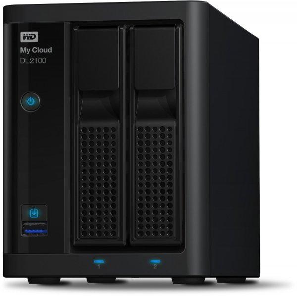 [Amazon Blitz/ 11.00 Uhr] WD My Cloud Business Serie DL2100 NAS-System 4TB (8,9 cm (3,5 Zoll), 5400rpm, 64MB Cache, SATA III) mit integrierten WD Red Festplatte für 499,90€