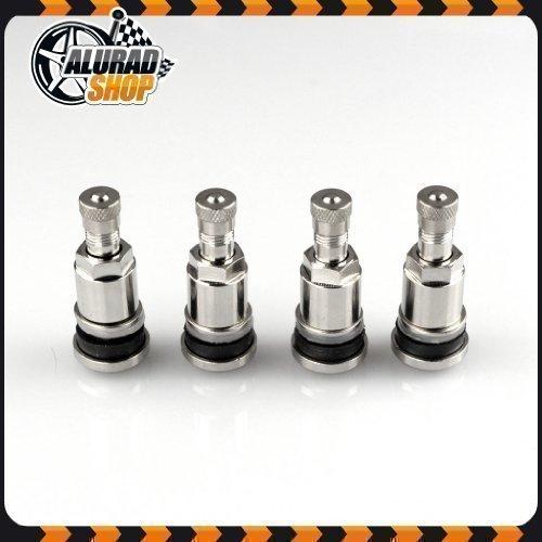 4 x Silber Metallventile Stahlventile Universal Felgenventile 11,3 mm NEU 2,50 € inkl. Versand