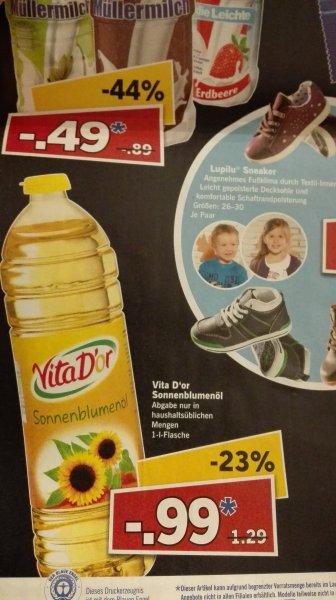 Sonnenblumenöl 1L für 0,99€ @lidl am 27.06.15