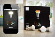 Philips Hue Starter Kit - Bridge + 3x E27 LED